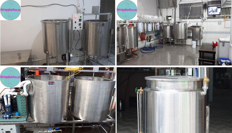 dây chuyền sản xuất chế biến thanh trùng sữa